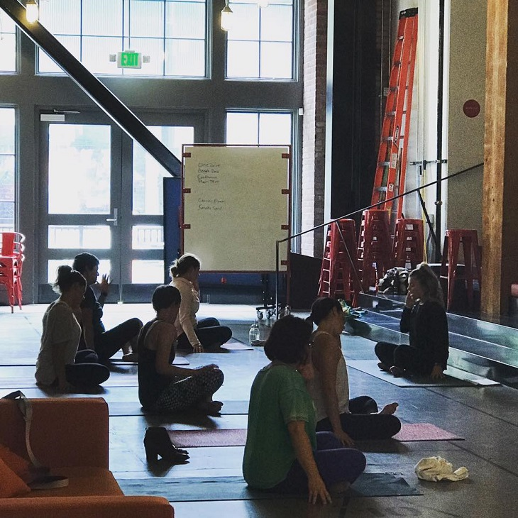 yoga at payscale seattle office