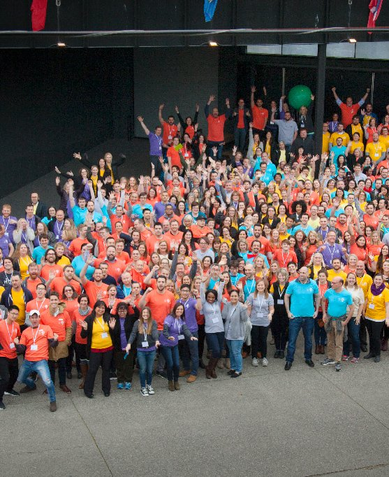 PayScale group photo
