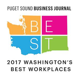 Puget Sound Business Journal 2017 Washington's Best Workplaces