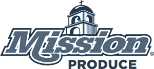 Mission Produce logo in monochrome