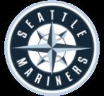 Seattle Mariners logo in monochrome